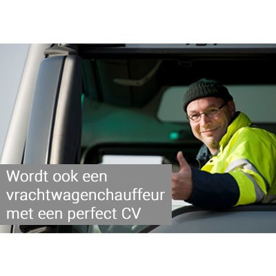 cv vrachtwagenchauffeur