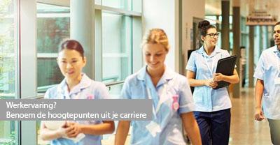 werkervaring op je cv verpleegkundige