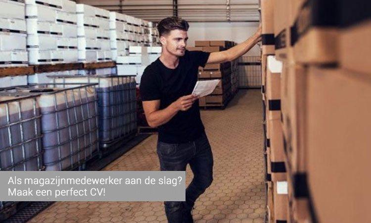 cv magazijnmedewerker