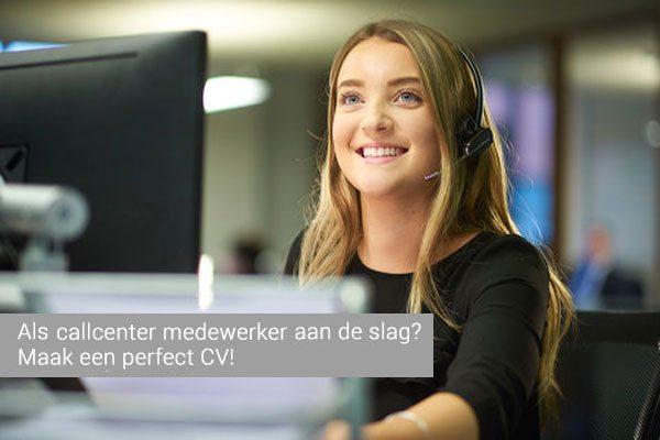 cv voorbeeld callcenter medewerker