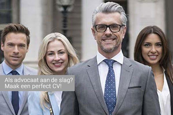 Voorbeeld CV advocaat   download gratis. PerfectCV.nl