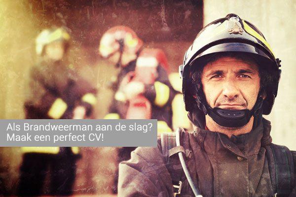 cv voorbeeld brandweerman