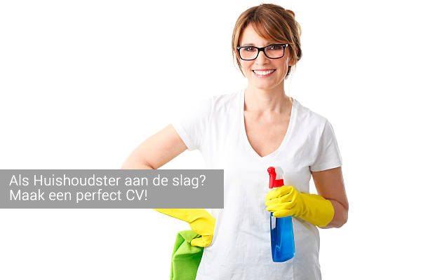 voorbeeld cv huishoudster