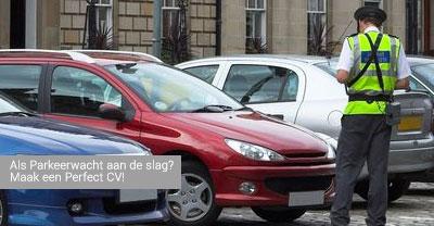 cv voorbeeld parkeerwacht