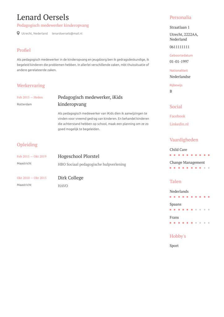 pedagogisch medewerker 4