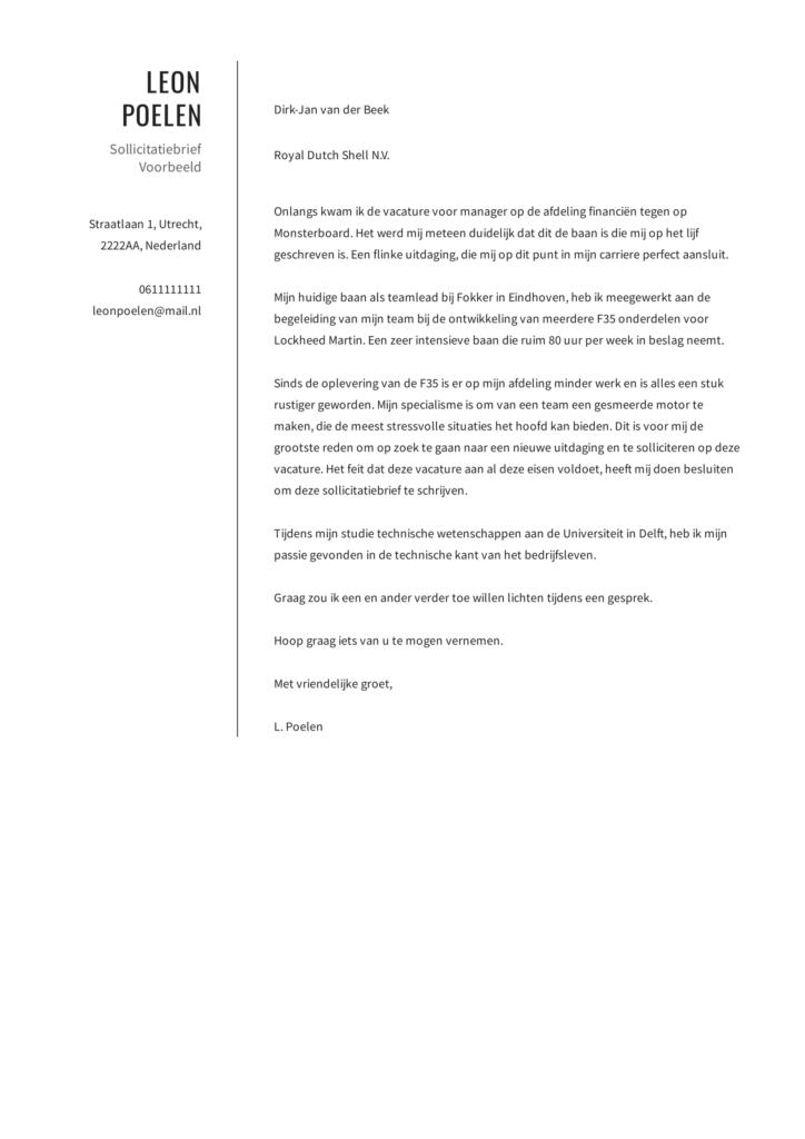 sollictatiebrief voorbeeld 12
