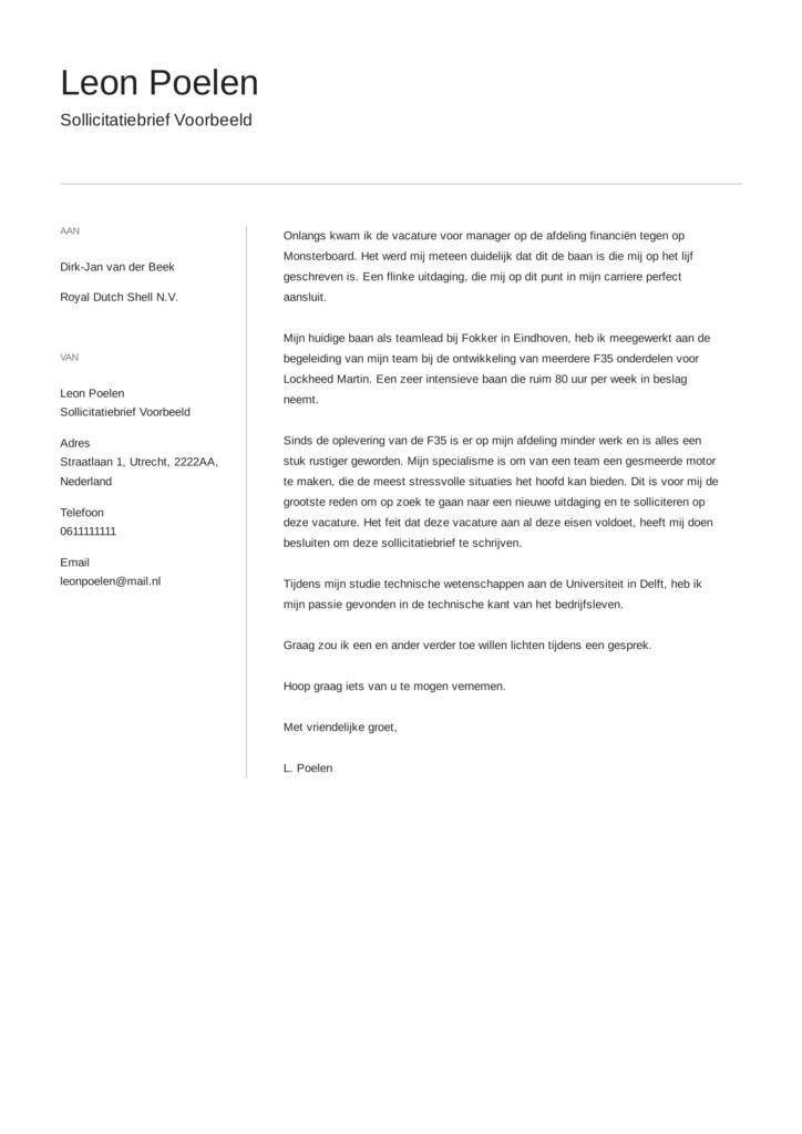 sollictatiebrief voorbeeld 11