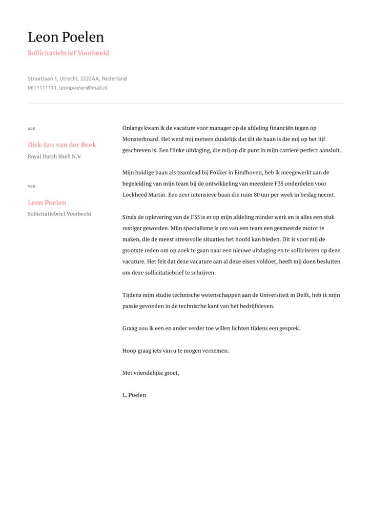 sollictatiebrief voorbeeld 7